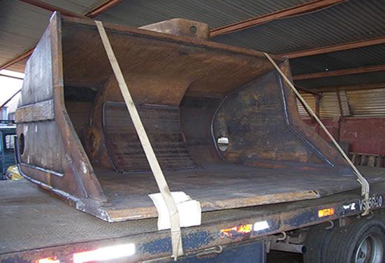 Отремонтированный ковш