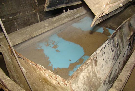 футеровка скипового подъемника песка от налипания
