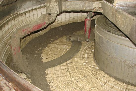 футеровка смесителя бетона TEKA