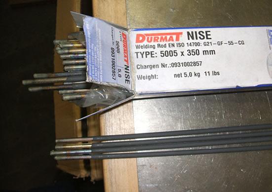 Электроды для износостойкой наплавки Durmat NISE