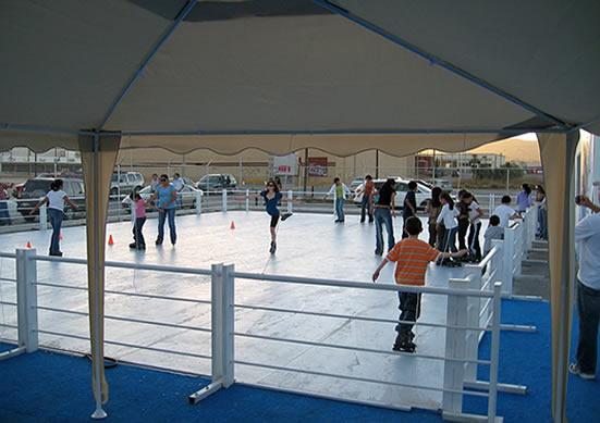 Каток из материала Tivar ICE
