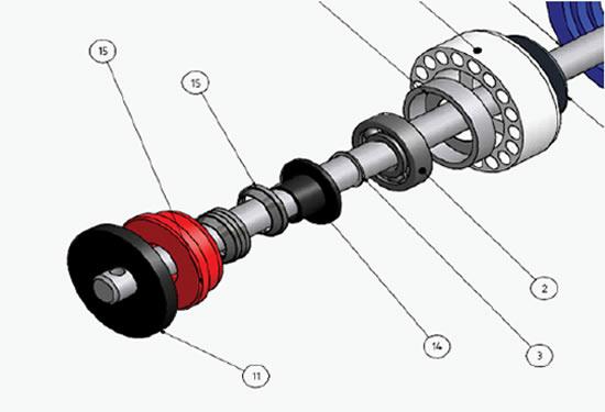 Рис. 4: Составная система уплотнения
