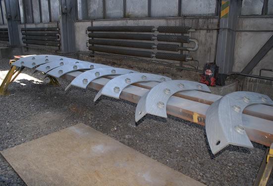 Комплект защитных элементов из износостойких листов