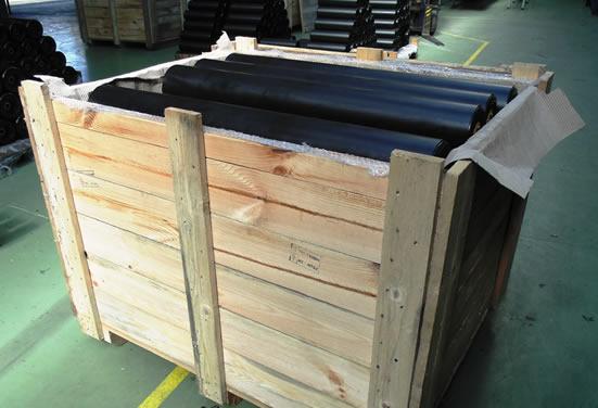 Упаковка роликов EU-Roller для отгрузки
